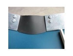 Convoyeur à bande à tasseaux cbc606001800