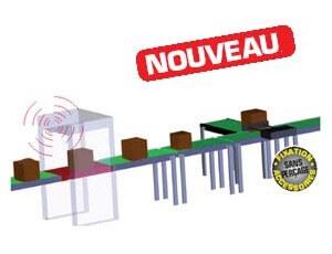 Convoyeur spécial RFID
