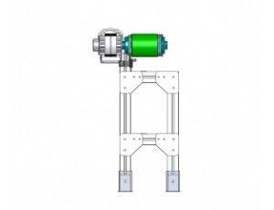 Convoyeur à bande magnétique mbco120800-1