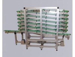 Convoyeur à chaînes à palette en plastique